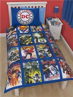 DC Comics DC Superheroes Dekbedovertrek
