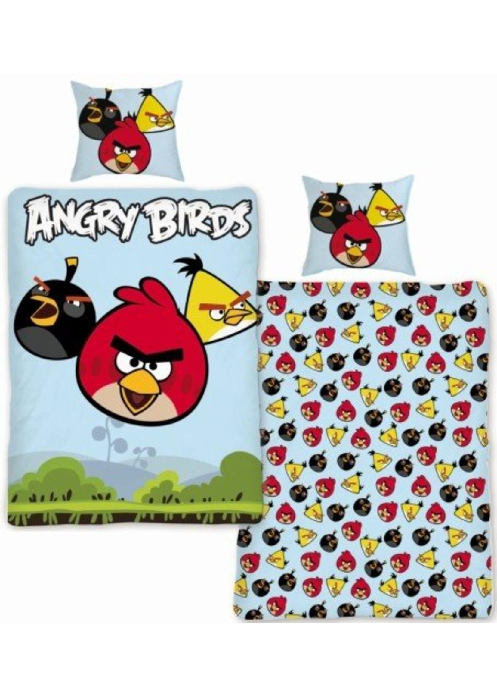 Angry Birds Dekbedovertrek 140x200 Katoen AB01017
