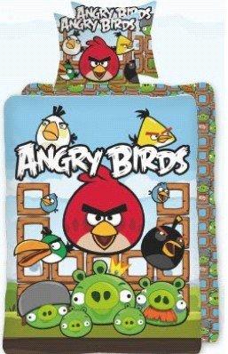Angry Birds Angry Birds Dekbedovertrek Katoen