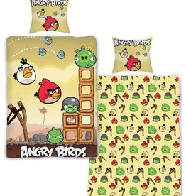 Angry Birds Dekbedovertrek Kattepult AB01019-Kattepult