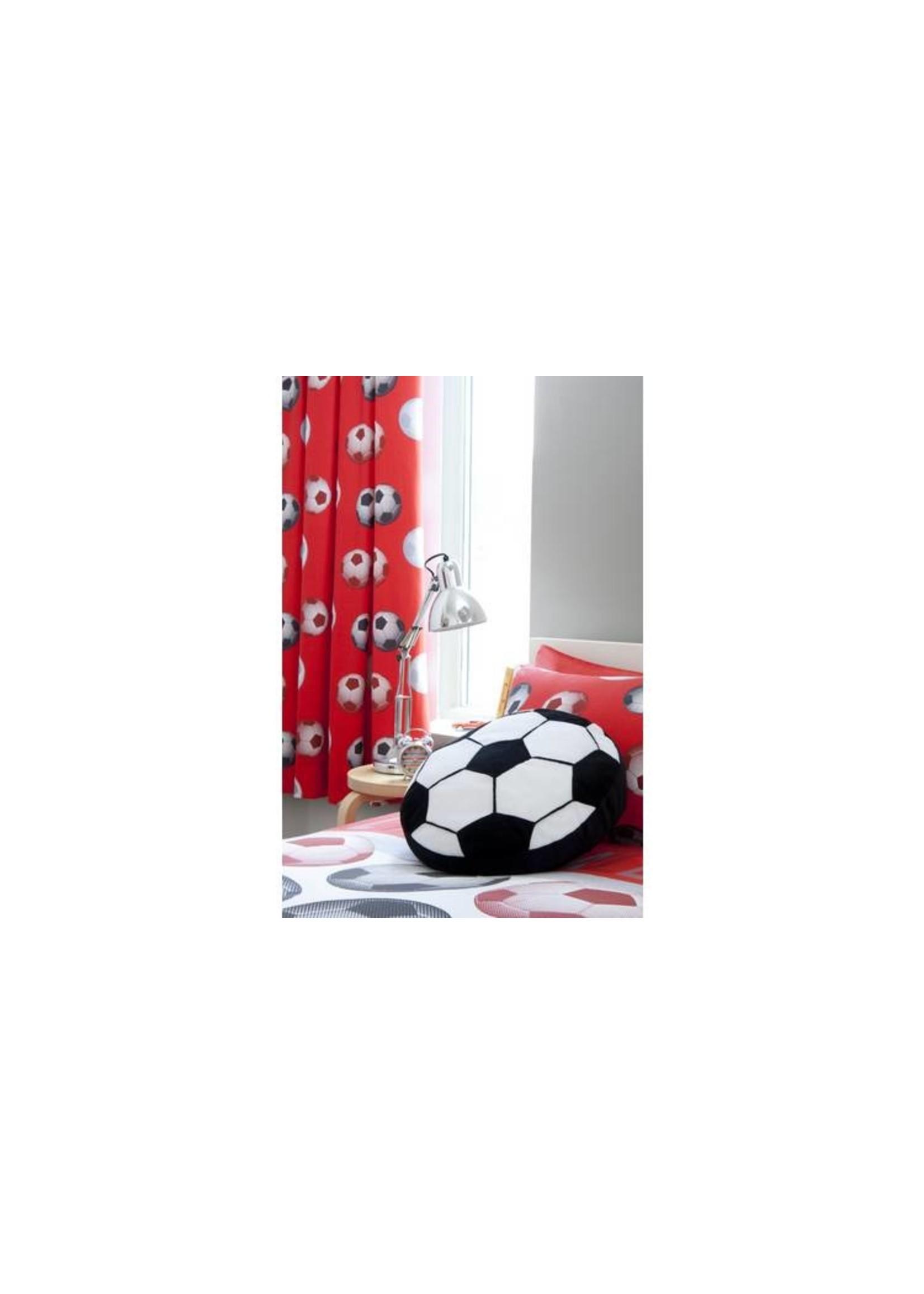 Catharine Lansfield Voetbal Gordijn Rood