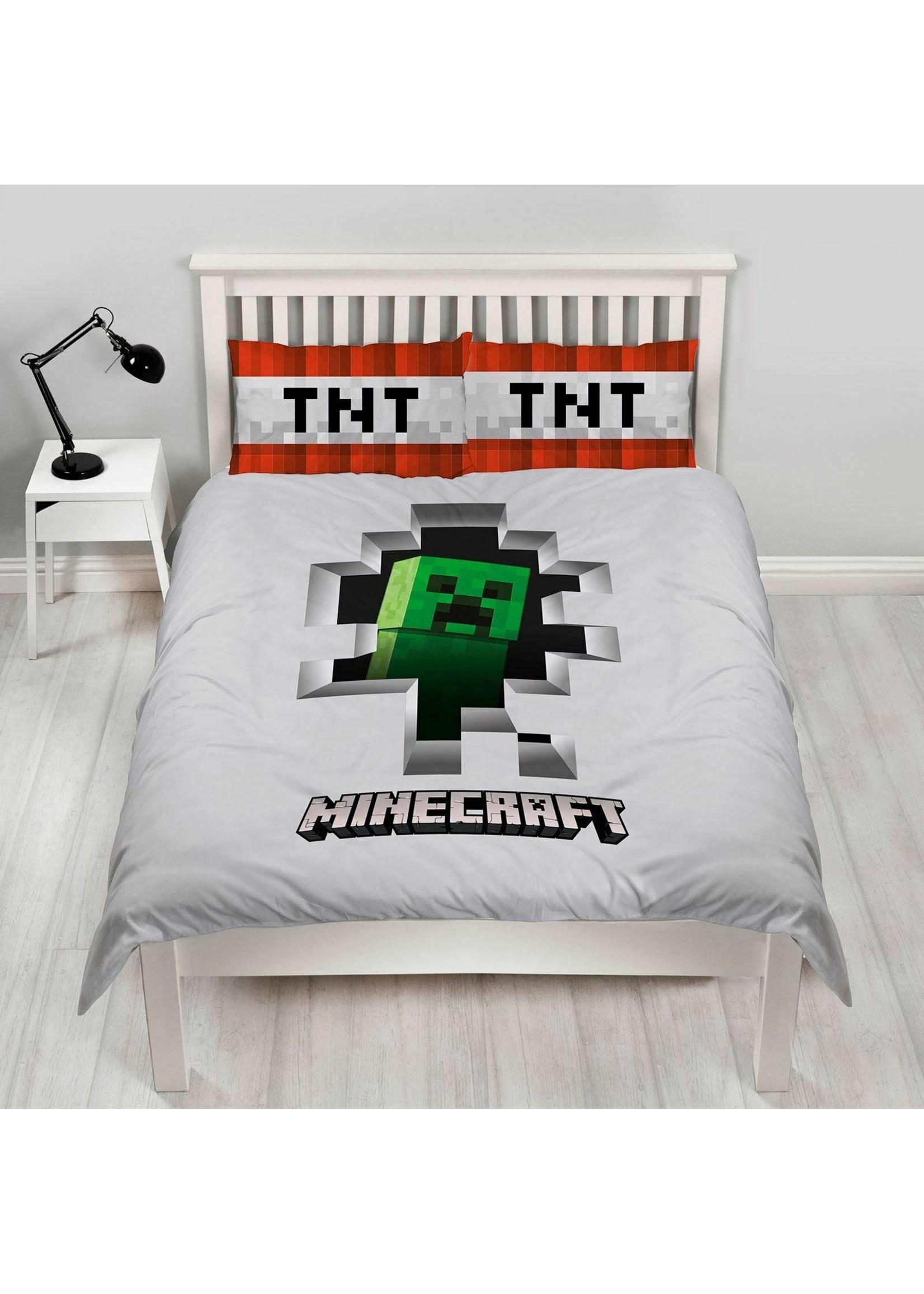 Minecraft Minecraft Tweepersoons Dekbedovertrek Dynamite