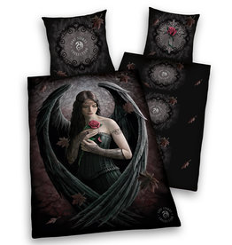 Herding Anne Stokes Duvet Cover Set Rose