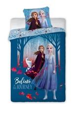 Disney Frozen Frozen 2 Dekbedovertrek Believe Journey Blauw