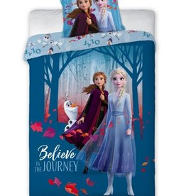 Disney Frozen Frozen 2 Dekbedovertrek Believe Journey Blauw