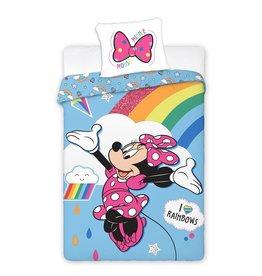 Disney Minnie Mouse Dekbedovertrek Regenboog