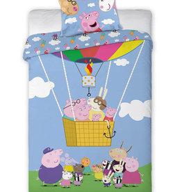 Peppa Pig Dekbedovertrek Luchtballon