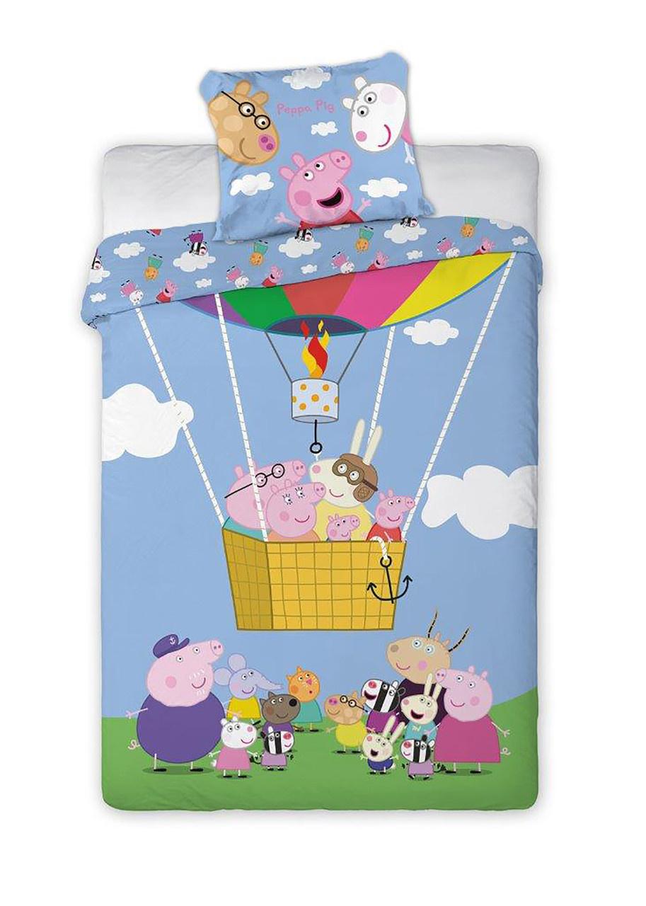 Peppa Pig Peppa Pig Dekbedovertrek Luchtballon