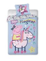 Peppa Pig Peppa Pig Dekbedovertrek Magical Unicorn
