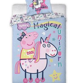 Peppa Pig Dekbedovertrek Magical Unicorn