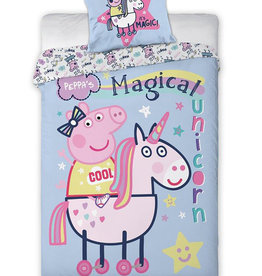 Peppa Pig Peppa Pig Dekbedovertrek Magical Unicorn