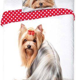 CharactersMania Yorkshire Terrier Dog Duvet Cover Set