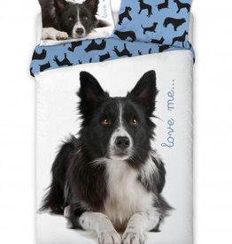 CharactersMania Border Collie Dog Duvet Cover Set