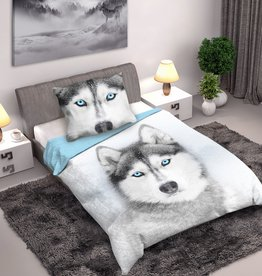 CharactersMania Husky Dog Duvet Cover Set
