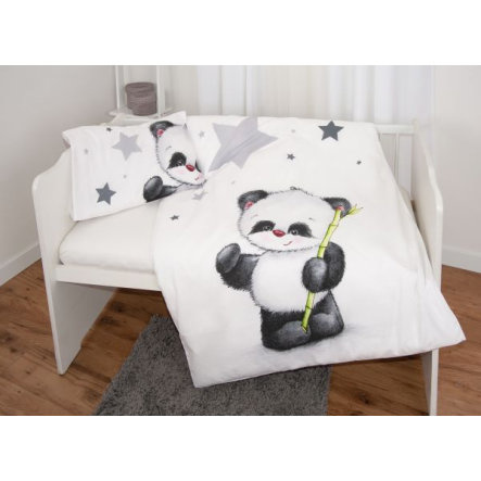 Baby Best Panda Junior Dekbedovertrek Flanel