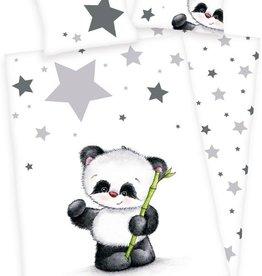 Panda Junior Dekbedovertrek Flanel