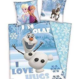 Frozen Dekbedovertrek Olaf I Love Hugs