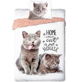 Cats Best Friends Duvet Cover Set