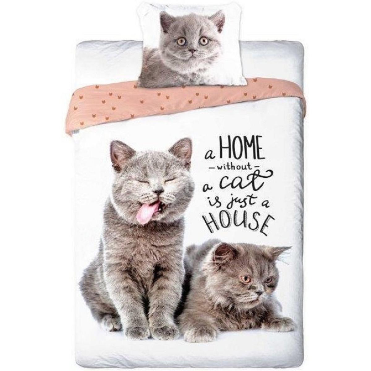 Animal Planet Katten Poezen Dekbedovertrek Best Friends