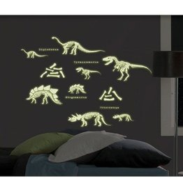 Dinosaurus Stickers Glow in the Dark Dino04004