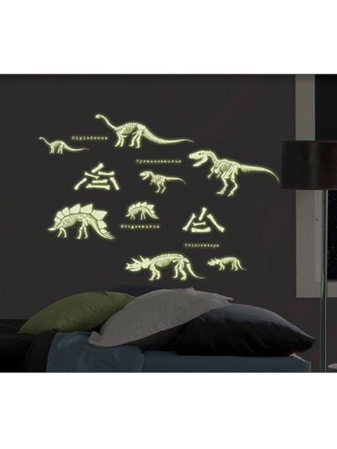 Dinosaurus Stickers Glow in the Dark Dino04004