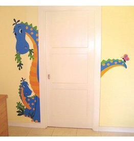 Wallies Dinosaurus Stickers Murals Maxi