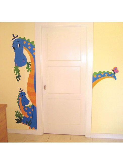 Wallies Dinosaurus Stickers Murals Maxi