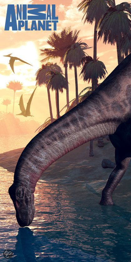 Dinosaurus Handdoek 5907629305804