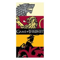 Game of Thrones Bath Towel Fire & Blood