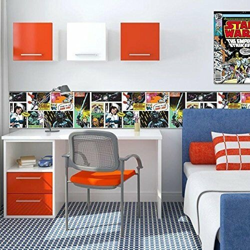 Star Wars Star Wars Behangrand Popart