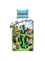 Minecraft Minecraft Duvet 140x200  Cotton Battle