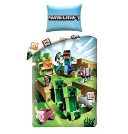 Minecraft Duvet 140x200  Cotton Battle