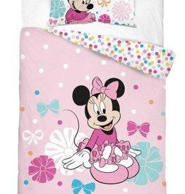 Minnie Mouse  Junior Dekbedovertrek Roze