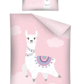 CharactersMania Lama Junior Duvet Cover Set Happy