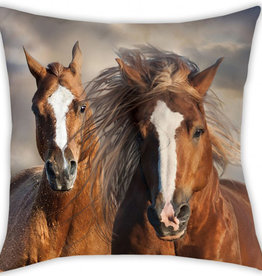 Animal Pictures Horses Cushion