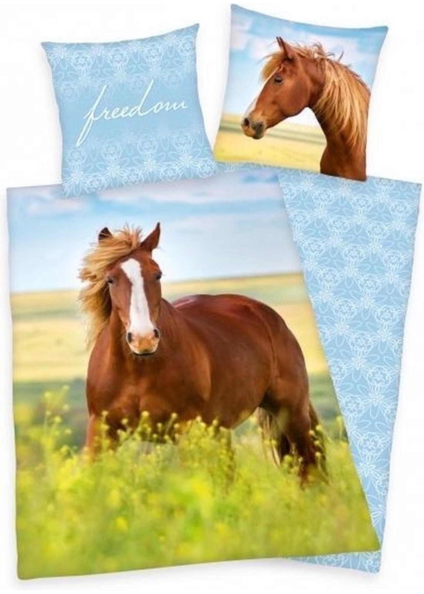 Paard Dekbedovertrek Vrijheid