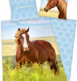 Herding Paard Dekbedovertrek Vrijheid