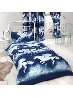 Unicorn Dekbedovertrek Stardust Blauw