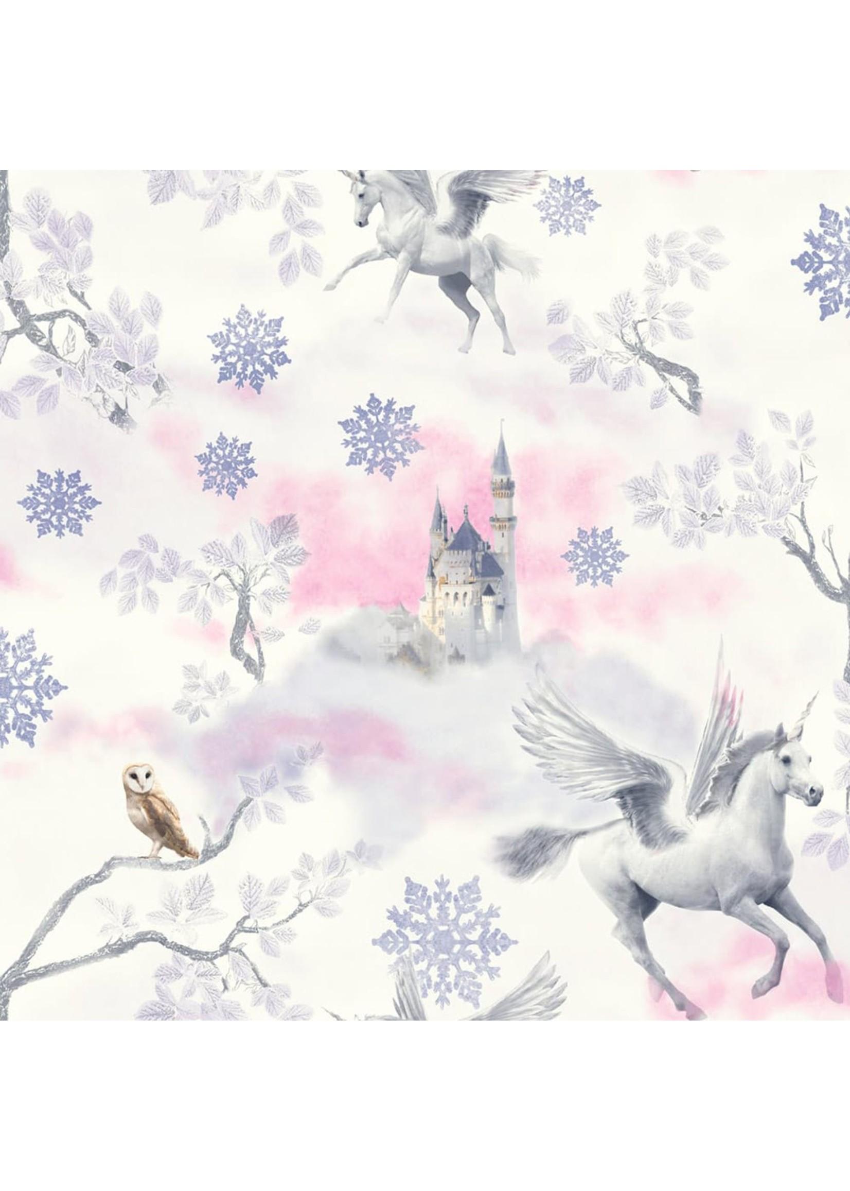 Arthouse Unicorn Glitter Behang Stardust