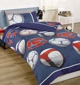 Kidz Voetbal Junior Duvet Cover