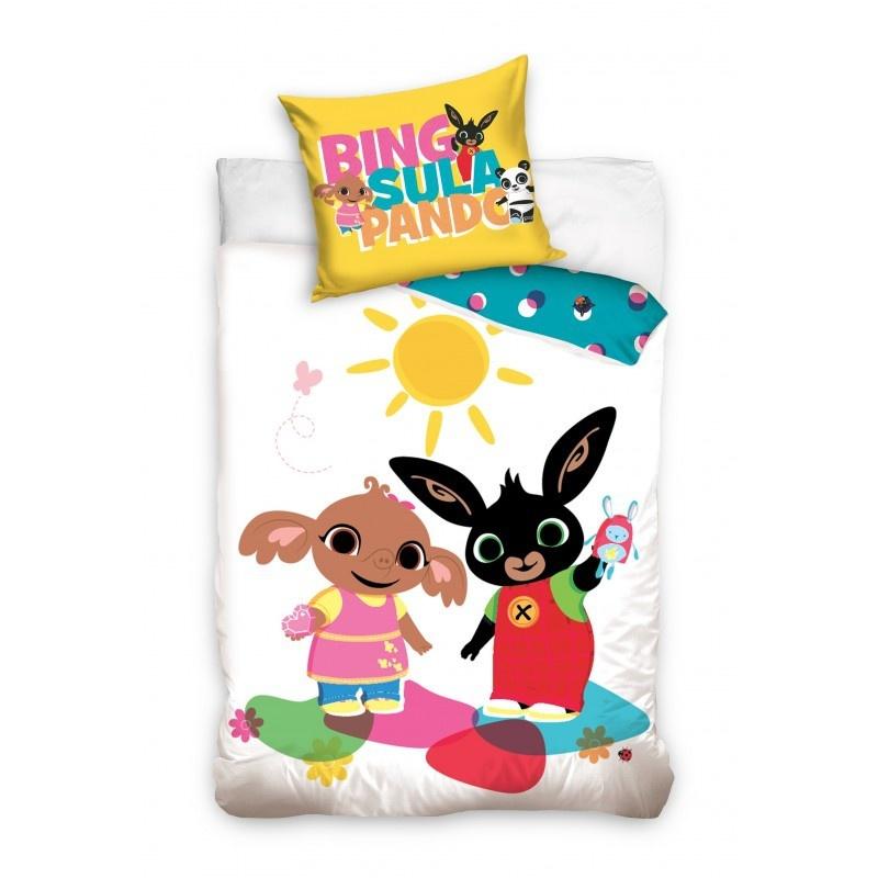 Bing Bunny Bing Bunny Junior Dekbedovertrek Wit