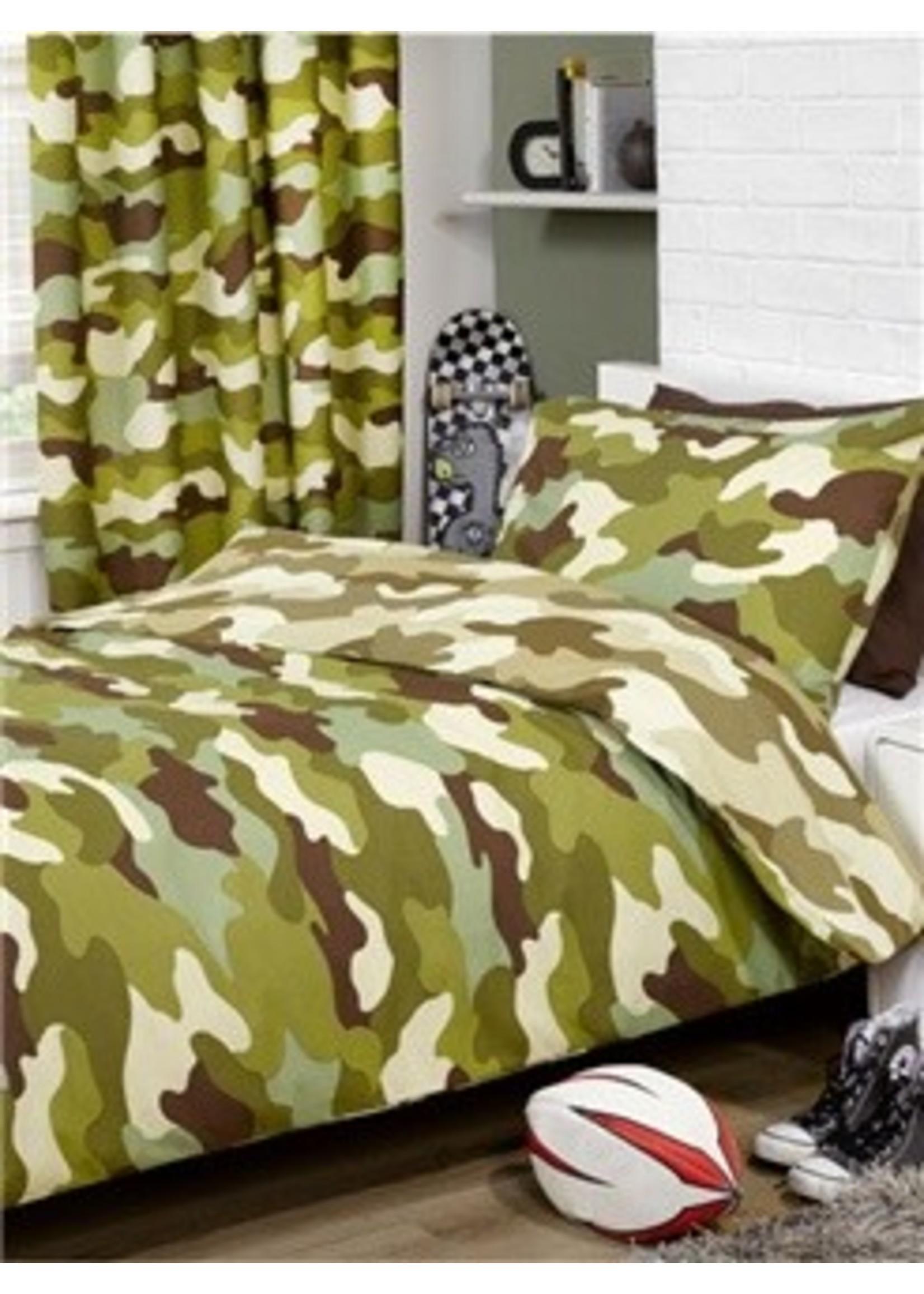 Kidz Club Camouflage Dekbedovertrek