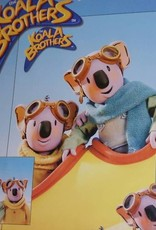 Koala Brothers Dekbedovertrek KATOEN OP=OP KB11001