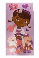 Disney Junior Doc McStuffins Handdoek Paars