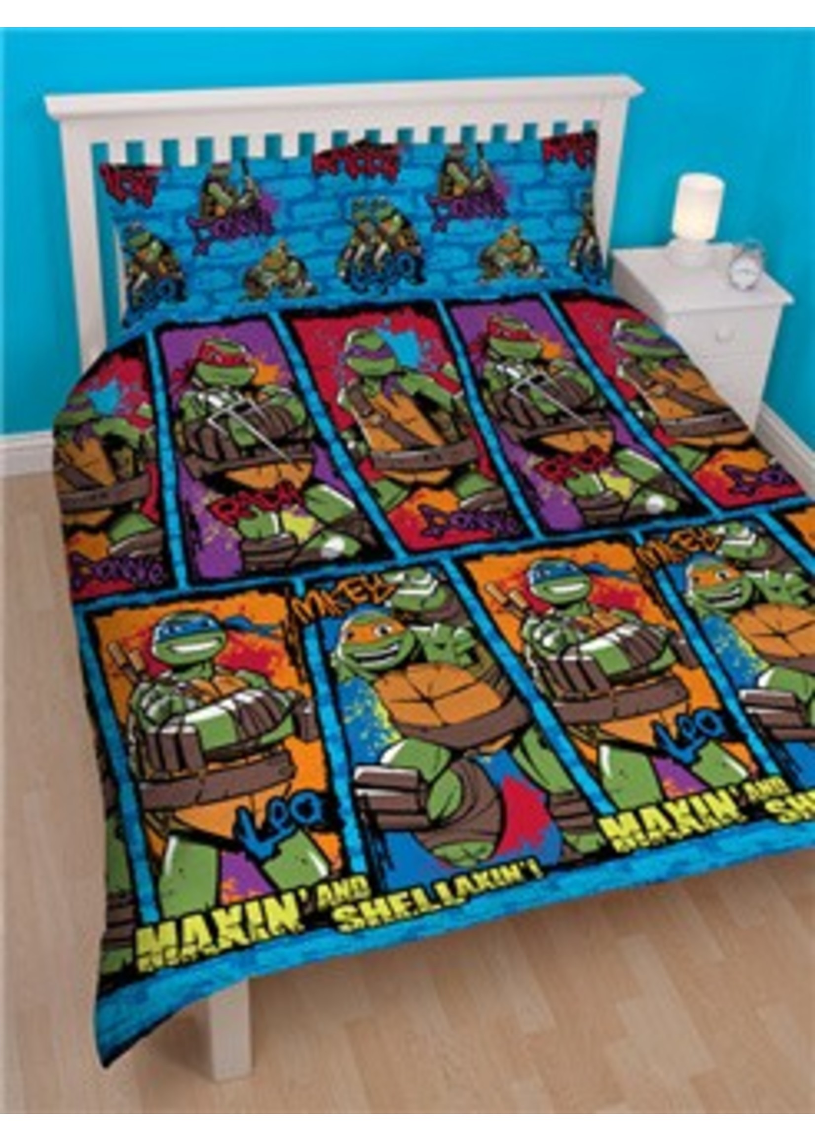 Ninja Turtles Dekbedovertrek Shell 200x200