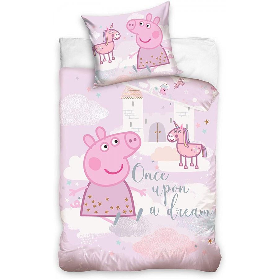 Peppa Pig PPeppa Pig Junior Duvet Set Unicorn Dream