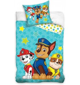 Nickelodeon Paw Patrol  Paw Patrol Junior Duvet Cover SetPaw Patrol Junior Dekbedovertrek Chase Marshall Rubble