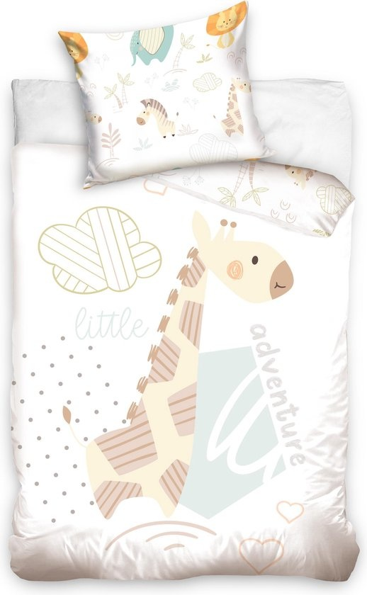 Carbotex Giraffe Duvet Cover Set Junior 100x135