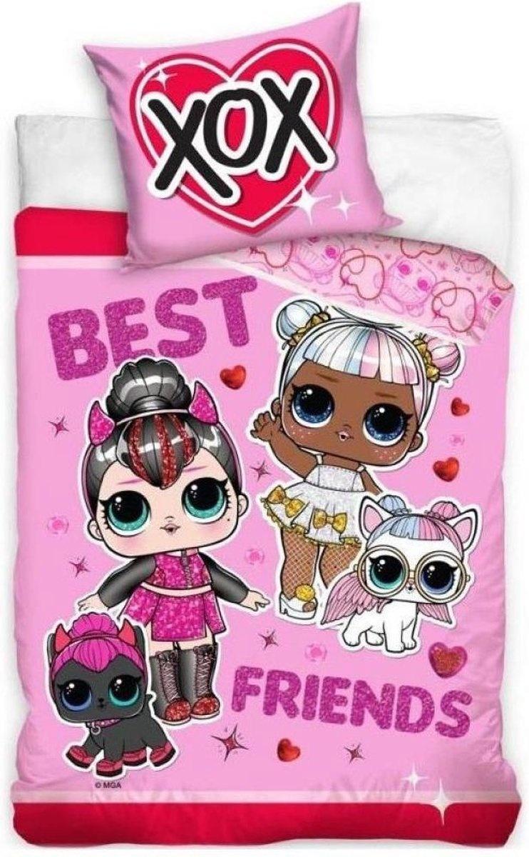 L.O.L. Surprise L.O.L. Surprise Dekbedovertrek Best Friends