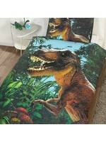 Jurassic T-Rex Dinosaurus Dekbedovertrek